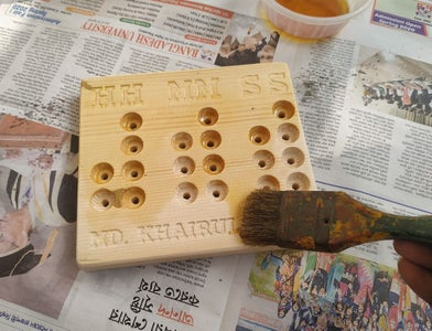 Sanding and Applying Varnish