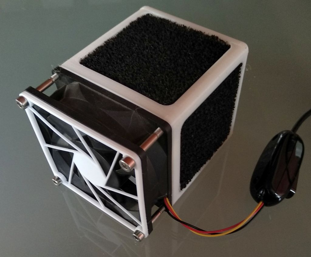 Picture of Air Purifier (active Carbon Filter) for 80mm Fan