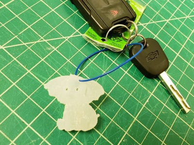 Turn Your Molded Design Into a Keychain
