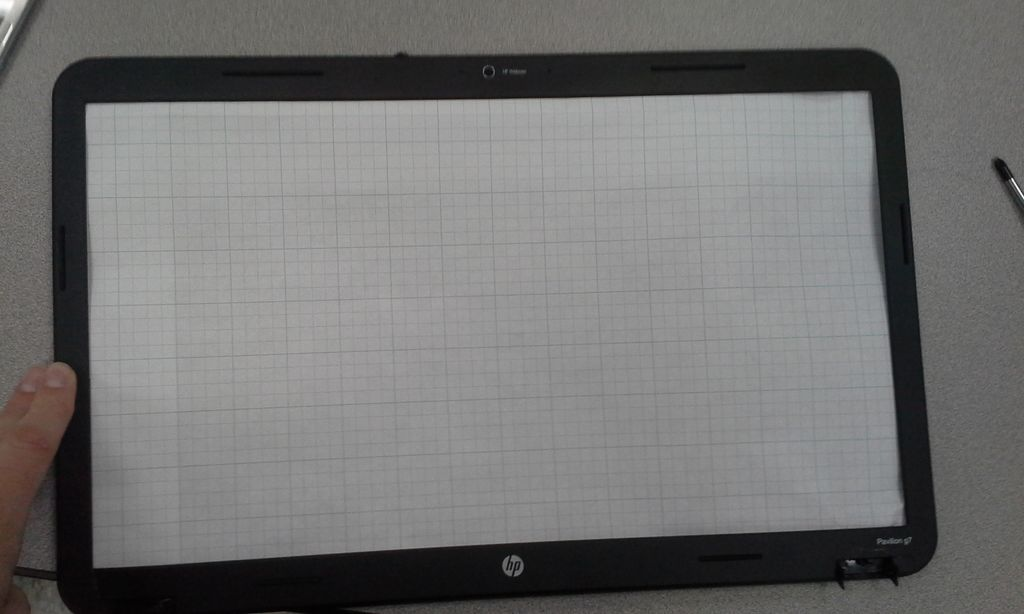 Picture of Monitor Picture Frame