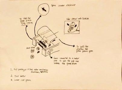 Design 4 - Intake Mechanism