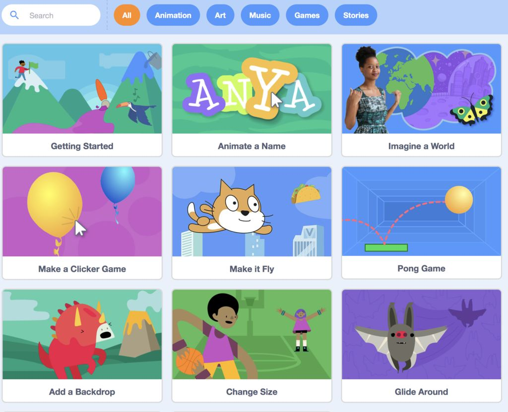 Picture of INTRO TO SCRATCH