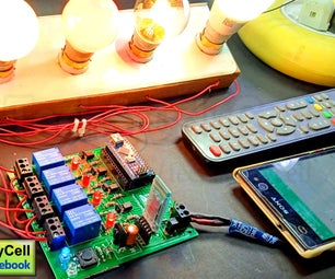 Home Automation With Infrared and Bluetooth Controlled Relay Module