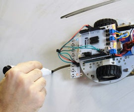 Arduino的线跟随Wallrides课堂白板