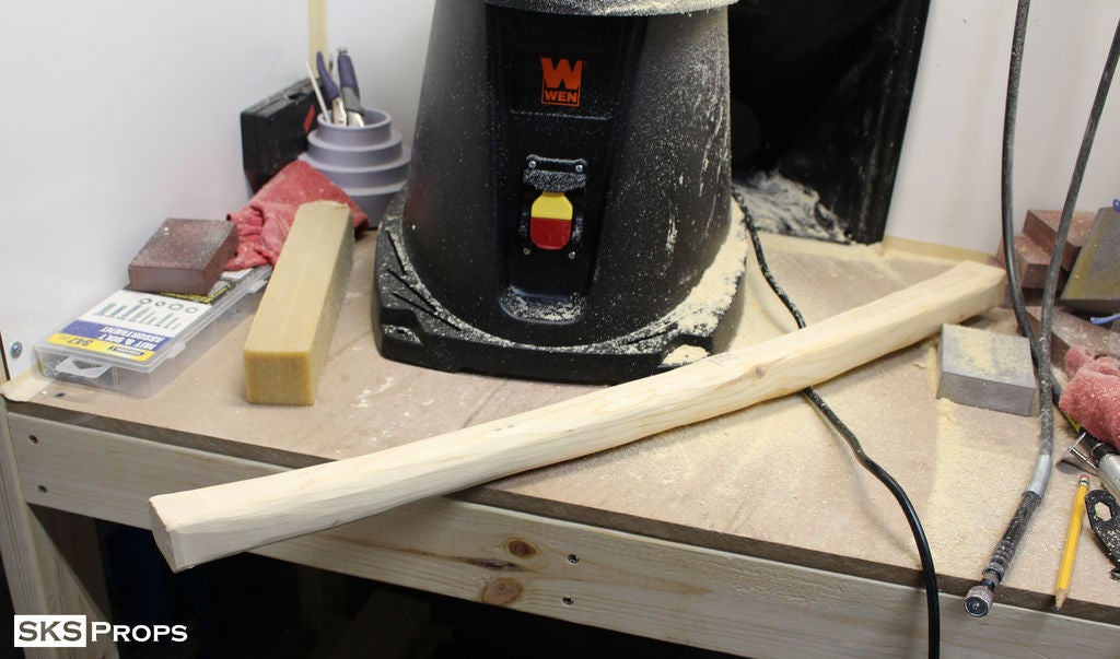 Picture of Starting the Axe Handle