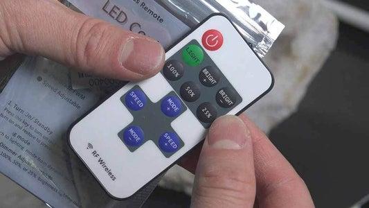 Optional Wireless Remote Control