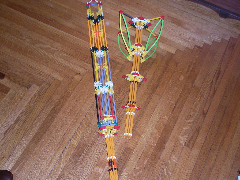 Picture of Knex Swords I Built Because Im Insanely Board