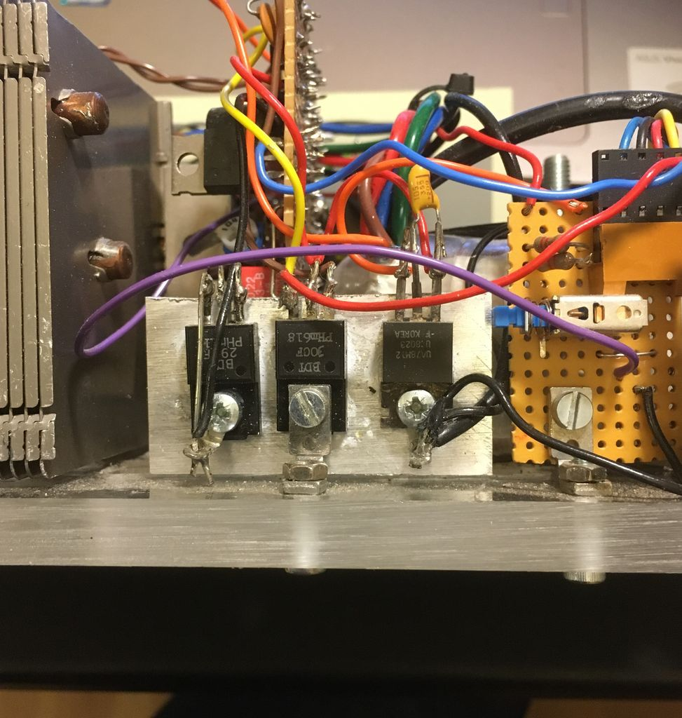 Picture of Electronic Design (Step Down Regulator and Fan Control)