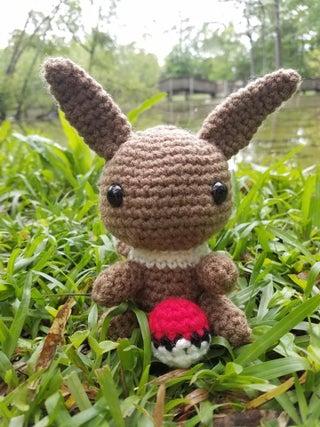 It's Eevee! (From Pokémon) : crochet   427x320