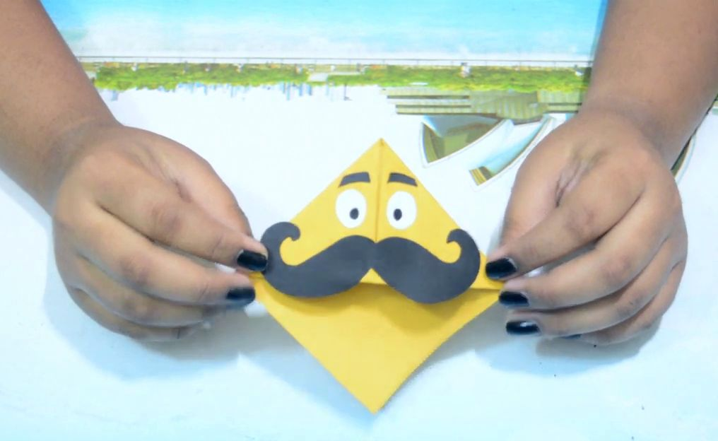 Picture of And Your Mustache Bookmark Is Ready