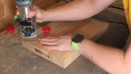 Add Hand Holds to Cutting Board