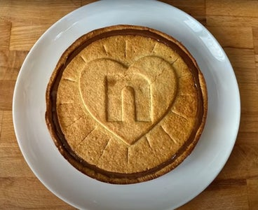 Giant Nutella Biscuit Pie