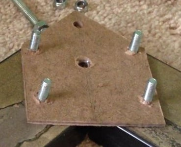 Cut and Drill the Frame Pieces