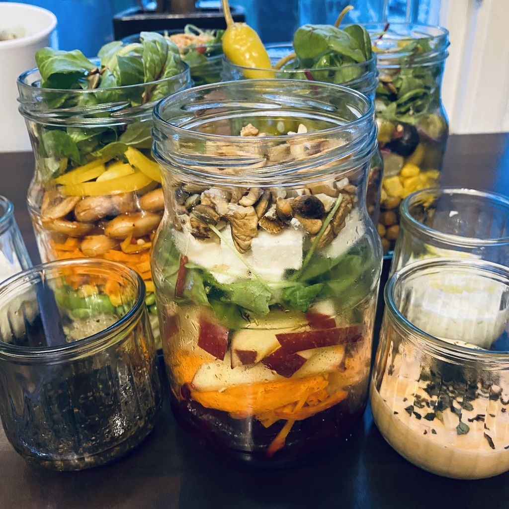 Picture of Salad Jars 5 Day Meal Prep
