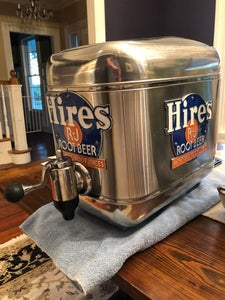 Hires Root Beer Soda Fountain Restoration