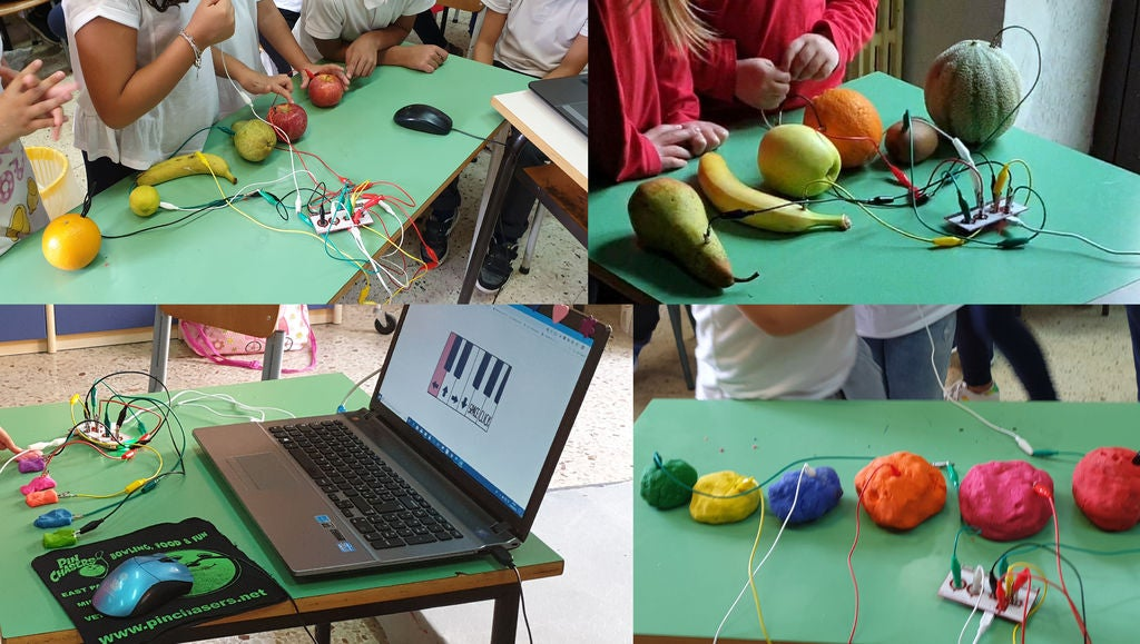 Picture of Makey Makey: Fruit Piano and Others