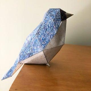 Papercraft Low-Poly Bird