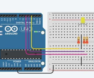 Interfacing RGB Led With Arduino on TinkerCad