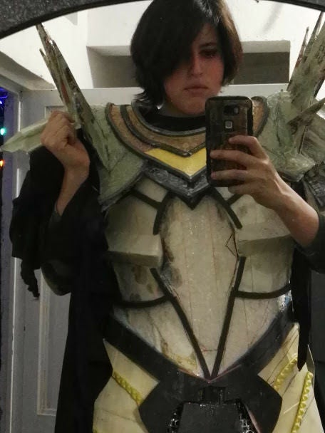 Picture of The Chest and Shoulder Pads.
