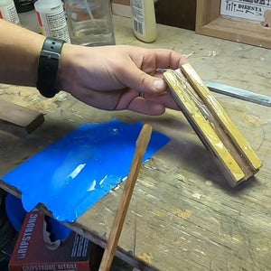 Attaching the Handle Pieces