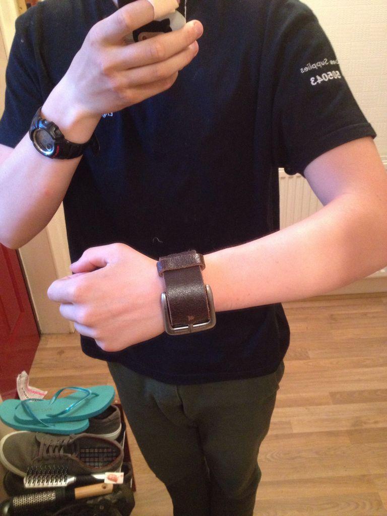 Picture of Leather Belt Bracelet