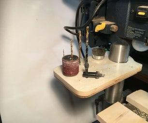制作一个钻床工具架