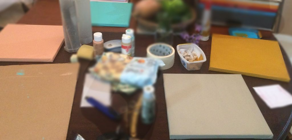 Picture of Paint the Canvases With Base Color