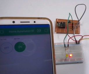 Home Automation Using Blynk and ESP8266-01 IOT