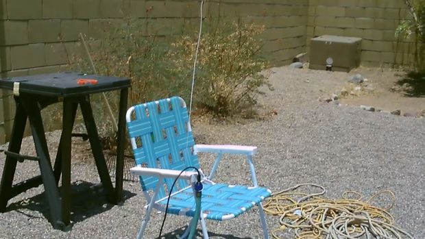 Picture of Then Attach It to Chair, Picnic Table, Side Table Etc...
