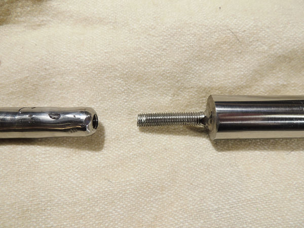 Picture of Finished Mandrel in Its Box and How It Is Assembled