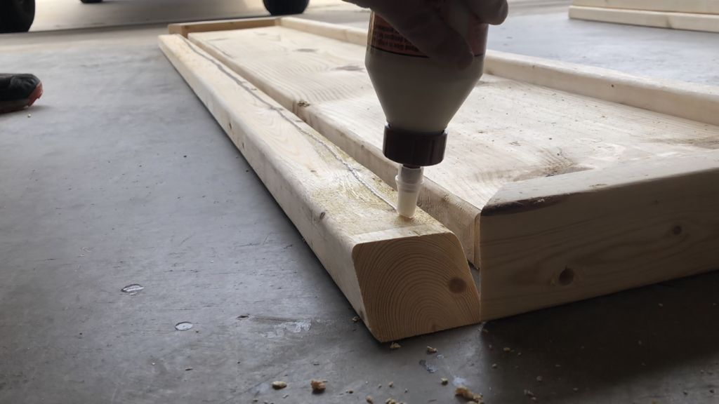 Picture of Attach the 2x3s to the Sides of the 2x12