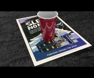 How to Model a Simple 3D Plastic Cup in Autodesk Maya