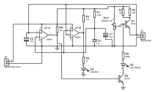Simple 4V Lead Acid Battery Charger With Indication : 3