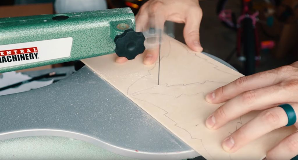 Picture of Cutting the Plywood Shapes