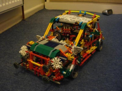 K'nex Mini Cooper S Updated