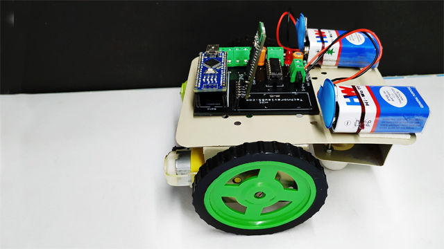 Picture of Smart Phone Control Arduino Robot