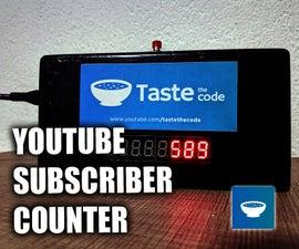 准确的YouTube用户计数器