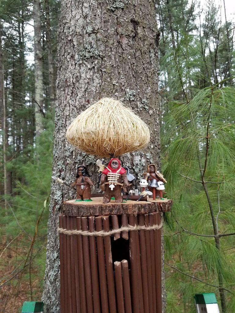 Picture of Ewok Birdhouse