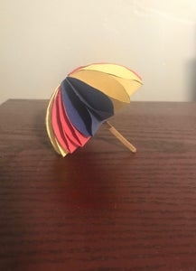 Mini Paper Umbrella