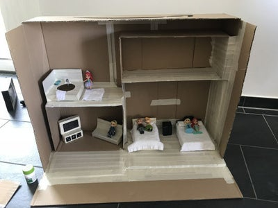 Making the Frame of Your Dollhouse