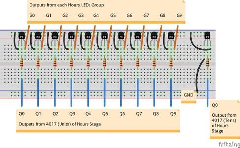 Stage 8: Hours Signals Control Circuit