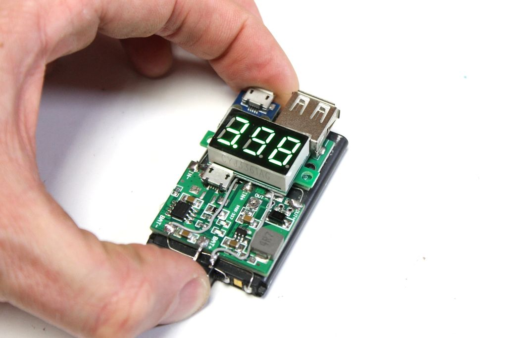 Picture of Adding a Voltage Meter