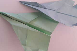 How to make an F15 Eagle Jet Fighter Paper Plane - Crazy Max - YouTube | 213x320