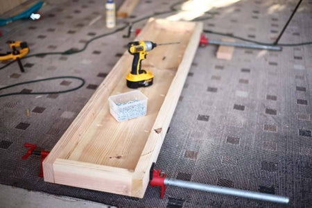 Assemble Top of the Bench