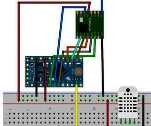 LORA Temperature and Humidity Sensor