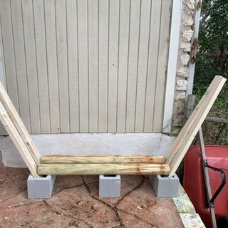 Firewood Rack Using No Tools