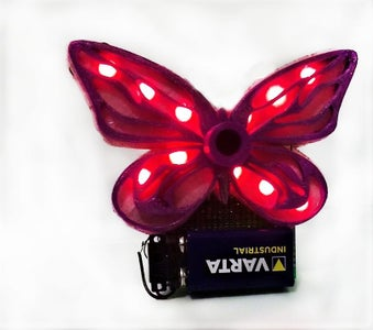 Watch Your Butterfly Glow!