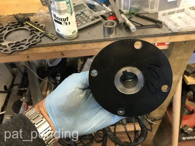Make the Custom Carriers for the Rear Brake and Sprocket