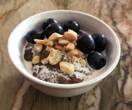 Morning Coffee Chia Pudding - Low Carb, Low Cal