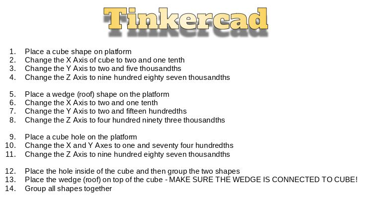 Picture of Tinkercad Math - Place Value to the Thousandths